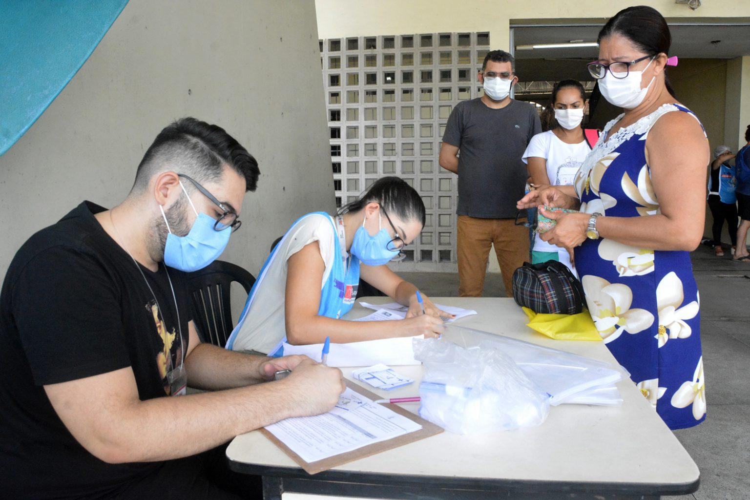 Saúde de JP oferta vacinação contra Covid-19 no Ronaldão para pessoas sem veículo
