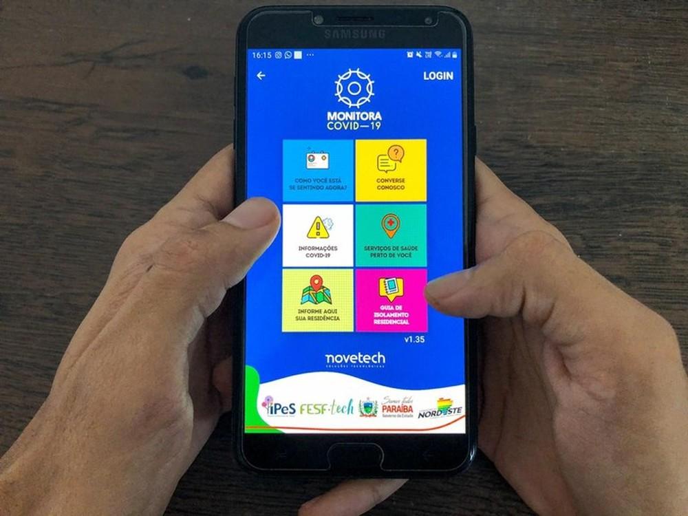 Governo da PB disponibiliza aplicativo para monitorar pacientes com Covid-19